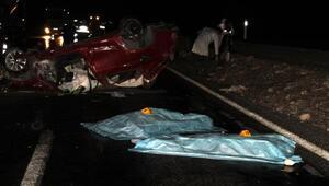 Kayseride otomobil takla attı: 4 ölü, 1 yaralı (2) - Yeniden