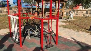 Kardeşinin engelini aştı, engellilere umut oldu