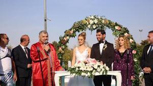 Okçuluk Türkiye Kupasında nikah sürprizi