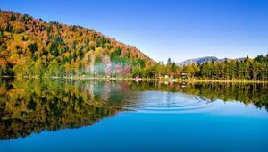 Karagölde sonbahar güzelliği
