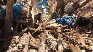 Manisada ev çöktü: 1 ölü