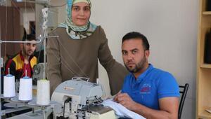 Suriyeli sığınmacıları meslek ve iş sahibi yapacak kurslar açıldı