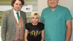 18 yıllık skolyoz hastası, ameliyatla sağlığına kavuştu