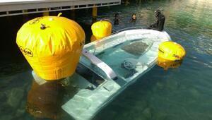 Bodrumda kaçak göçmen teknesi battı: 2 kişi öldü (4)