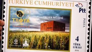 PTTden, Troya Yılına özel Troya Müzesi temalı Pul