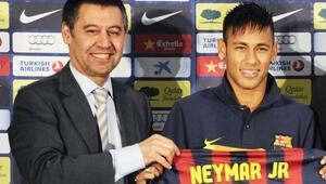 Barcelonadan Neymar açıklaması