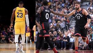 LeBron yine kazanamadı, Raptors 4te 4 yaptı
