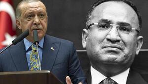 Erdoğanın konuşmasında, Bozdağ gözyaşlarını tutamadı