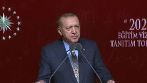 Cumhurbaşkanı Erdoğan 2023 Eğitim Vizyonu toplantısında konuştu