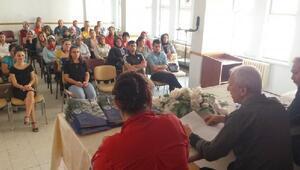 İslahiye Halk Eğitim Merkezinde toplantı