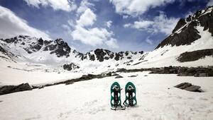 Türkiyenin Alpleri Kaçkarlara kayak merkezi yolda