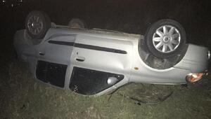 Ehliyet yeni alan genç kız kazada ağır yaralandı