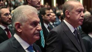 Cumhurbaşkanı Erdoğan, TBMM Başkanı Yıldırımı kabul etti