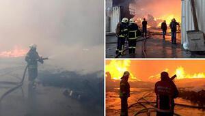 Son dakika: Esenyurt'ta fabrika yangını Yan fabrikalara da sıçradı…