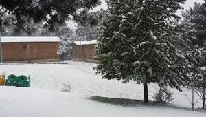 Murat Dağına mevsimin ilk karı yağdı