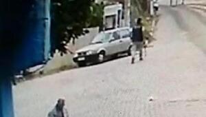 Demir sopalı meydan dayağı kameralara yansıdı, serbest bırakıldı