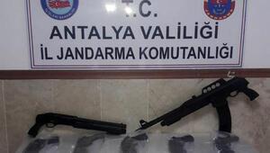 Manavgatta silah kaçakçılığı operasyonu