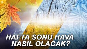 İstanbulda hafta sonu hava nasıl olacak Meteoroloji Müdürlüğünden soğuk hava uyarısı