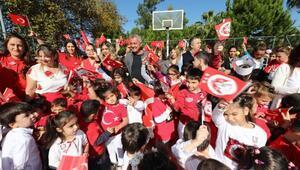 Minikler Cumhuriyet Bayramını kutladı