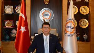 AESOB Başkanı Dereden 29 Ekim mesajı
