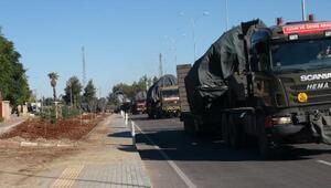 Kilisten Suriye sınırına obüs sevkiyatı sürüyor