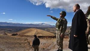 İçişleri Bakan Soylu, Türkiye-İran sınırındaki güvenlik duvarını inceledi/ Ek foto