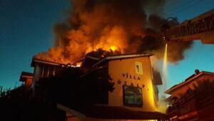 Ortacada otelde yangın (2)