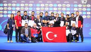 Türkiye, Dünya Güreş Şampiyonasında 9 madalya kazandı