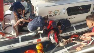 Bodrumda kaçak göçmenlerin teknesi battı: 1 ölü