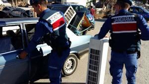 Jandarmadan kent genelinde asayiş uygulaması