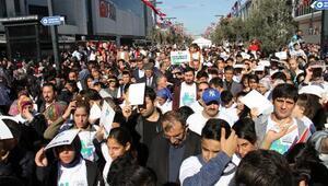 Esenyurt'ta binlerce kişi sağlık için yürüdü