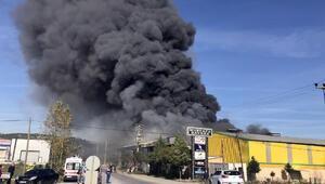 Adapazarında fabrika yangını (2)- Yeniden