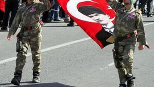 Cumhuriyet Bayramı, Kayseride coşkuyla kutlandı