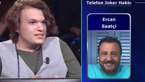 Telefon jokeri Ercan Saatçi oldu ama...