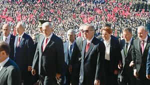 Erdoğan: Gurur ve heyecanla huzurundayız