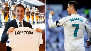 Lopeteguinin babası: Ronaldo ile oğlumdan 50 gol çaldılar