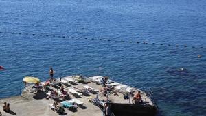 Antalyada pastırma sıcakları