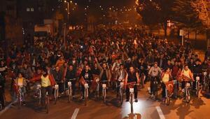 Kayseride 29 Ekim Bisiklet Turu yapıldı