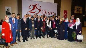 Kırşehir'de Cumhuriyet Resepsiyonu