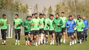 Atiker Konyaspor kupa maçına hazırlanıyor