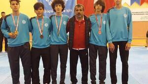 Selçuklu taekwondo takımından 9 madalya