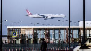 Son dakika: İstanbul Havalimanında tarihi an... İlk uçuş başladı