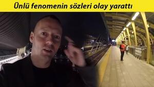Norveçli fenomen İstanbul Metrosuna hayran kaldı