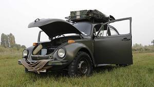 Nazi komutanlarının savaş otomobilini 33 bin liraya yeniden topladı
