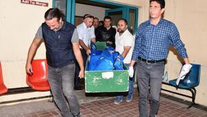 Antalyada düşen uçağın pilotlarının cenazeleri alındı
