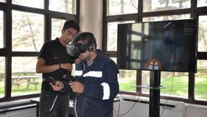 Bursa Çimento çalışanları, iş güvenliğini yeni uygulamalarla test etti