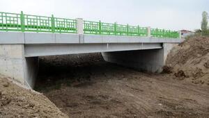 Demirtaş-Avdancık Köprüsünün yapımı tamamlandı