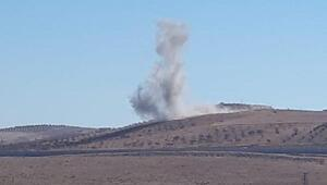 Kobanide 2 noktadaki teröristler vuruldu / Fotoğraflar