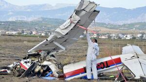Uçak düştüğünde yardımcı pilot yaşıyormuş