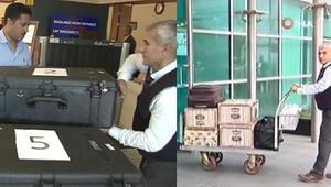 Suudi başsavcı numaralı çantalar ile ayrılıyor